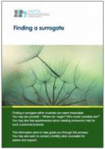 Finding a surrogate - Cover